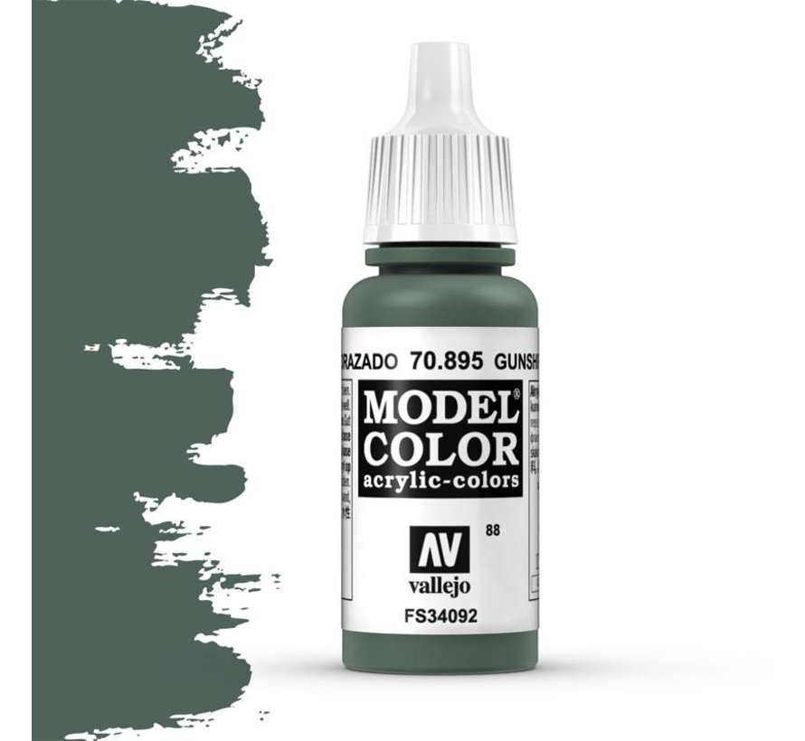 Model Color Gunship Green -17ml -70895