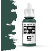Vallejo Model Color German Extra Dark Green -17ml -70896