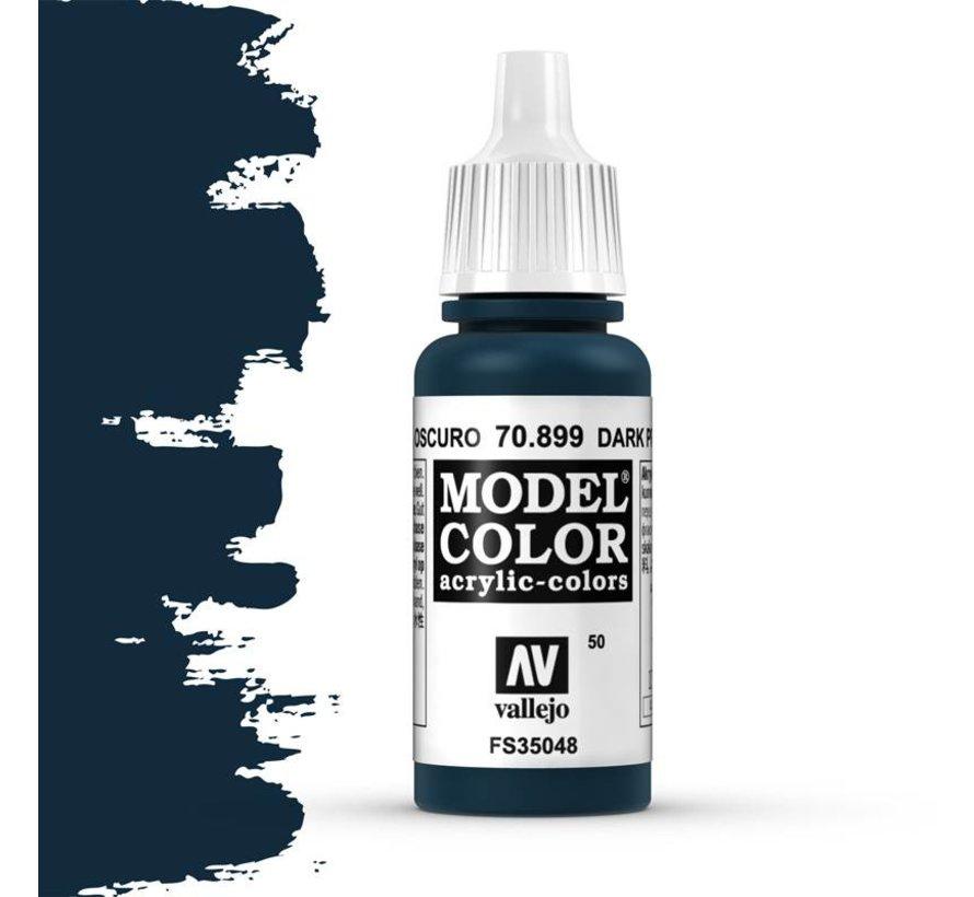 Model Color Dark Prusia Blue -17ml -70899