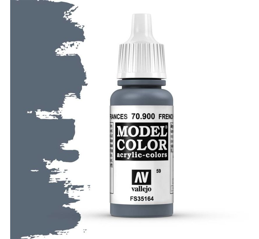 Model Color French Mirage Blue -17ml -70900