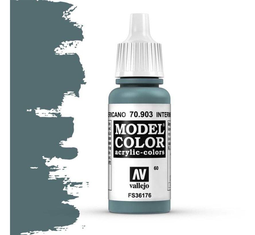 Model Color Intermediate Blue -17ml -70903