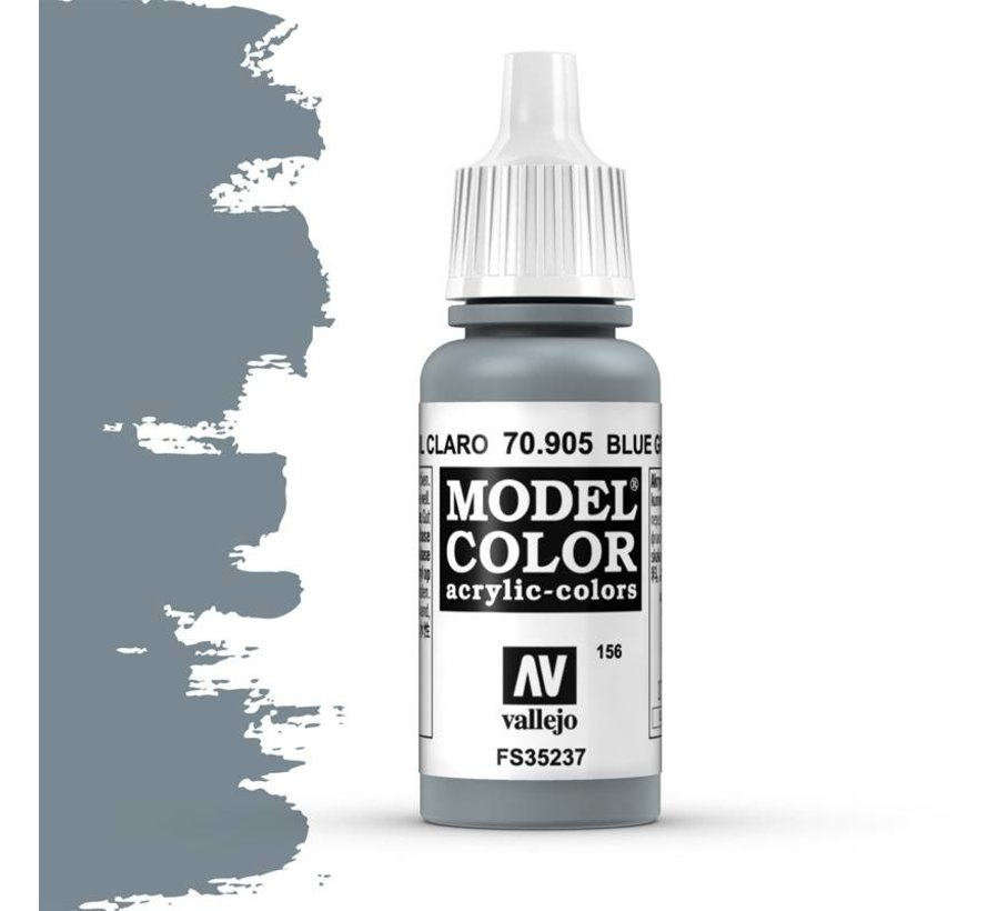 Model Color Bluegrey Pale -17ml -70905