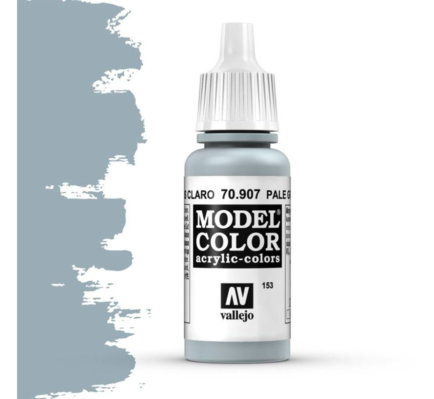 Model Color Pale Greyblue -17ml -70907