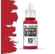 Vallejo Model Color Carmine Red -17ml -70908