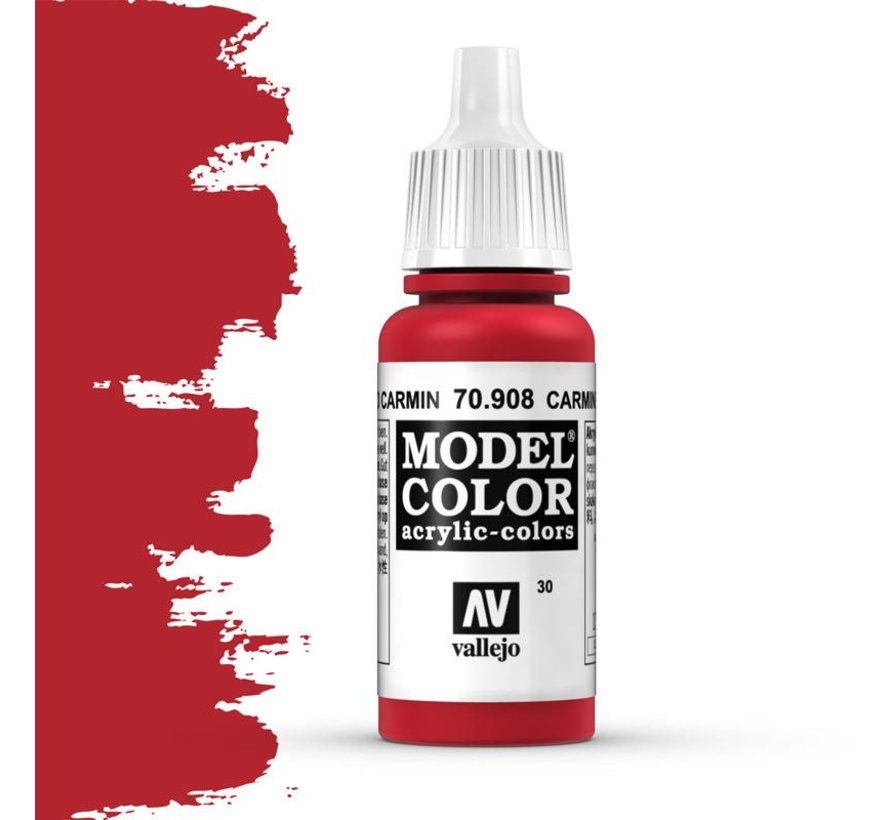 Model Color Carmine Red -17ml -70908