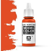 Vallejo Model Color Orange Red -17ml -70910