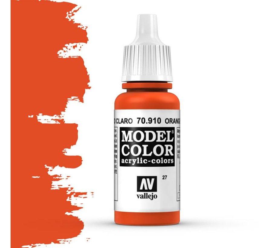 Model Color Orange Red -17ml -70910