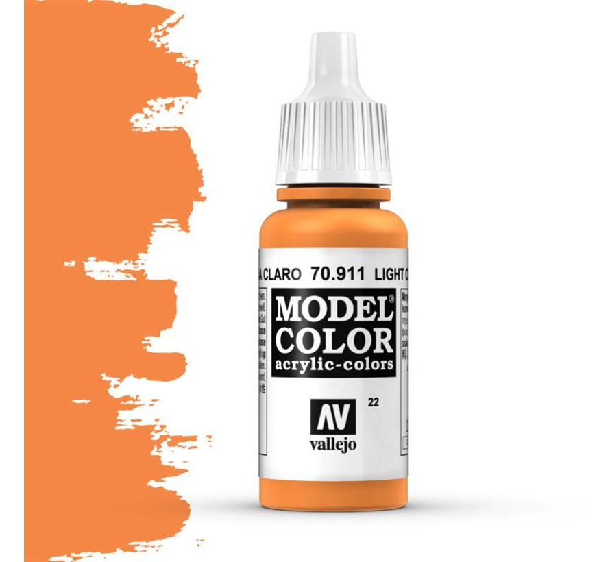 Model Color Light Orange -17ml -70911