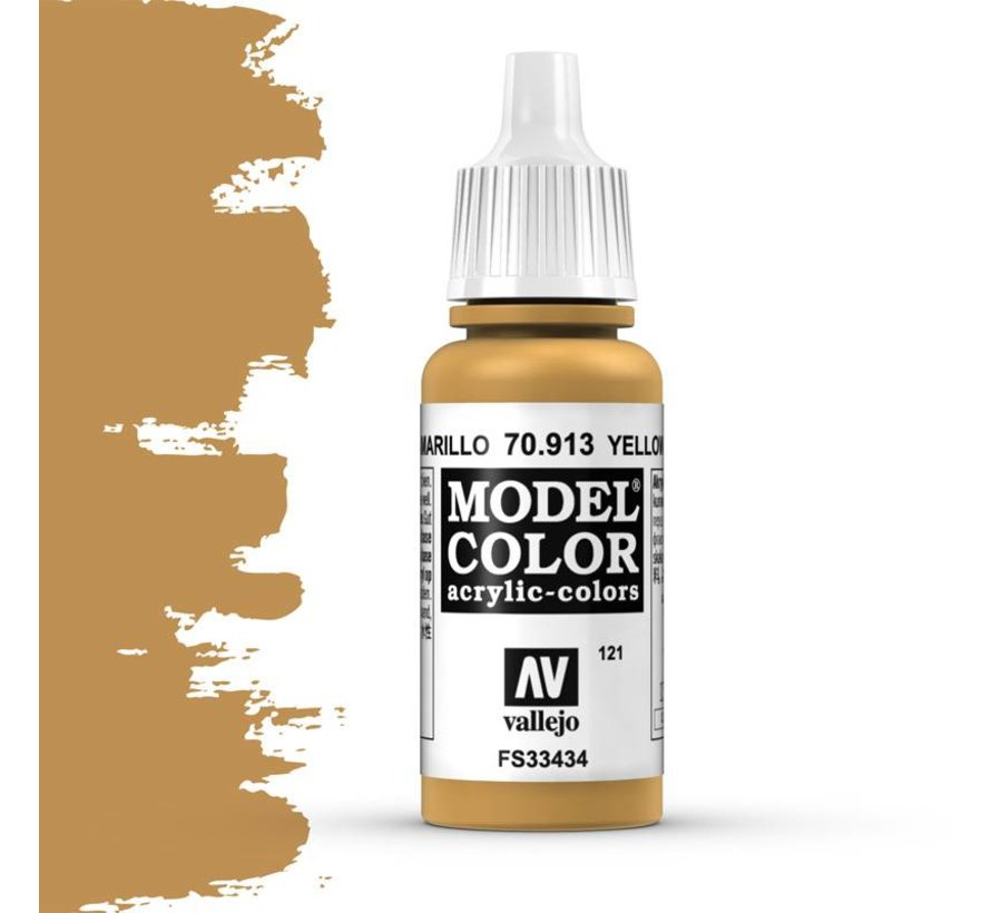 Model Color Yellow Ochre -17ml -70913