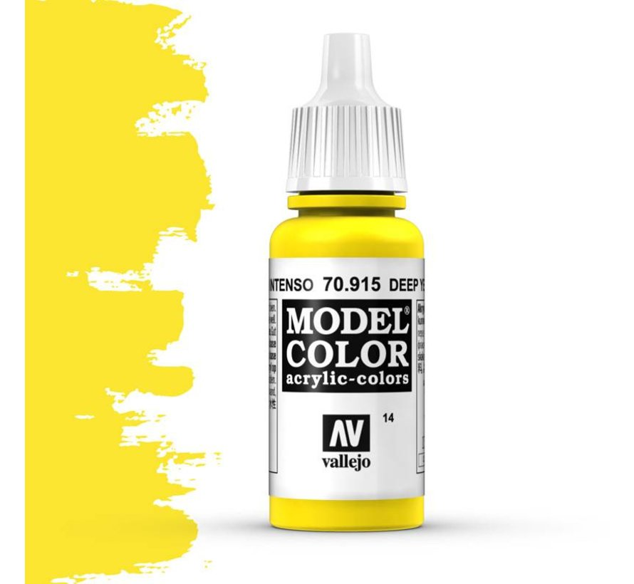 Model Color Deep Yellow -17ml -70915