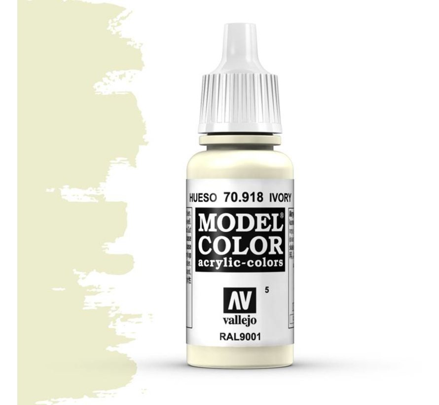 Model Color Ivory -17ml -70918