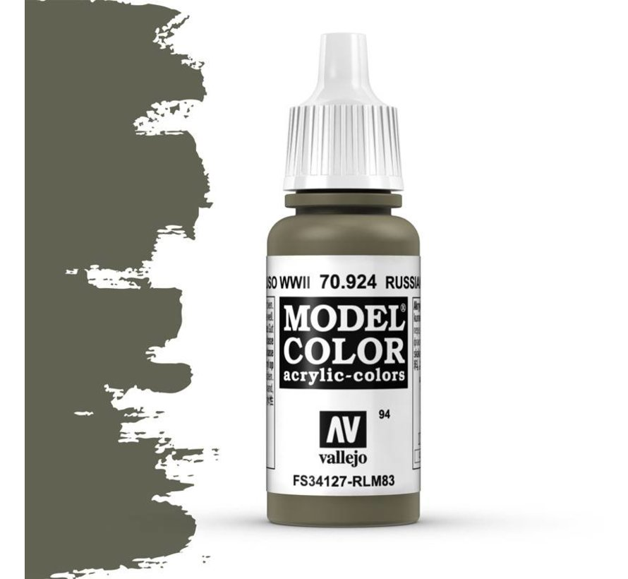 Model Color Russian Unif. WWII -17ml -70924