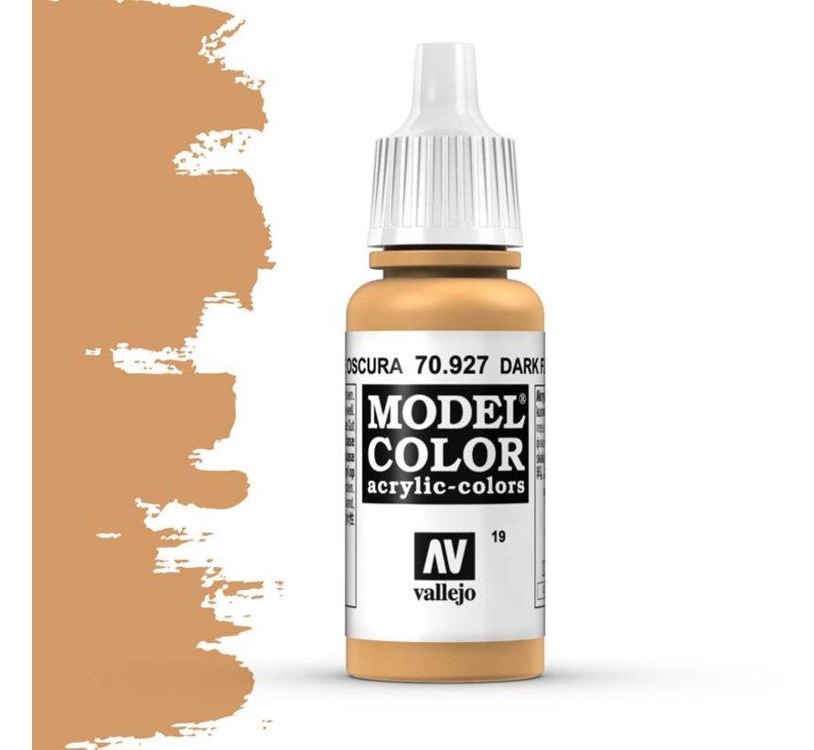 Model Color Dark Flesh -17ml -70927