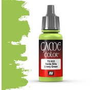 Vallejo Game Color Livery Green - 17ml - 72033