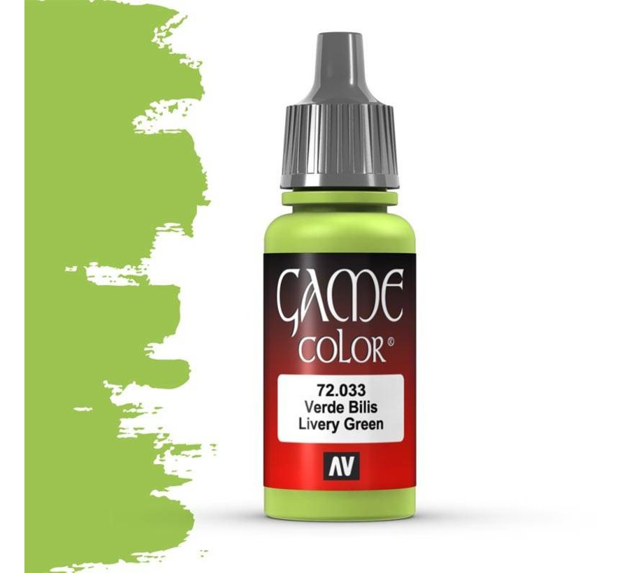 Game Color Livery Green - 17ml - 72033