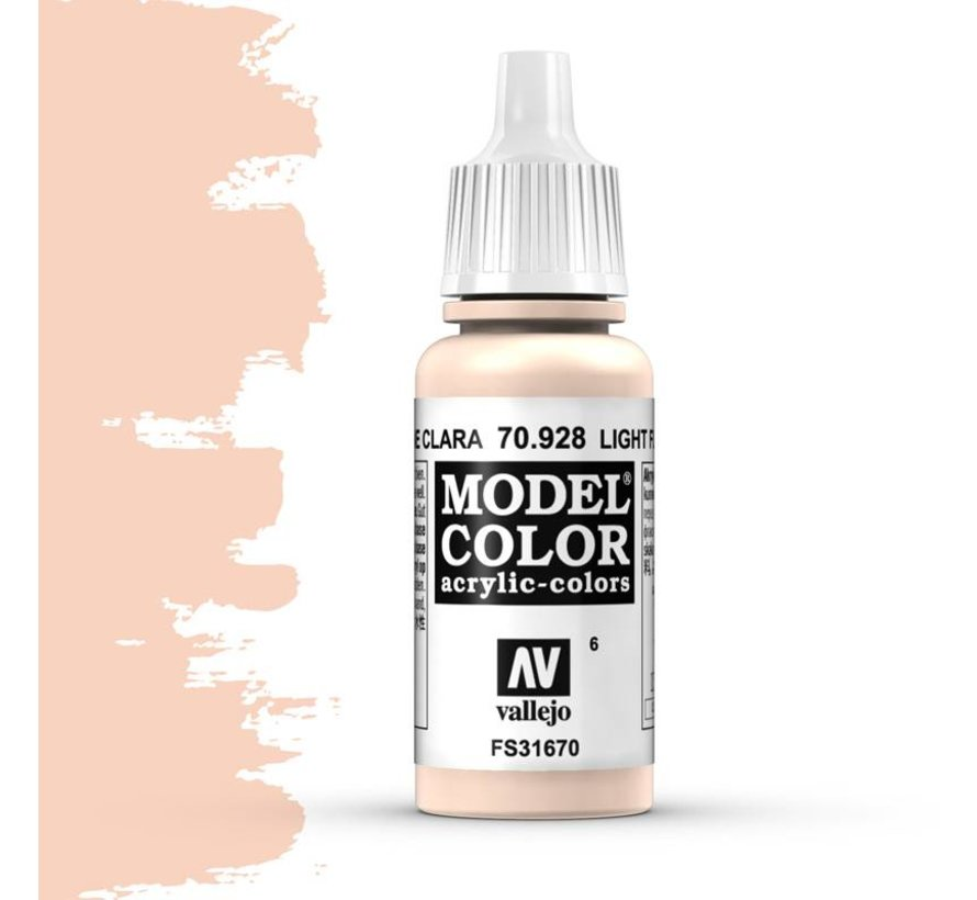 Model Color Light Flesh -17ml -70928