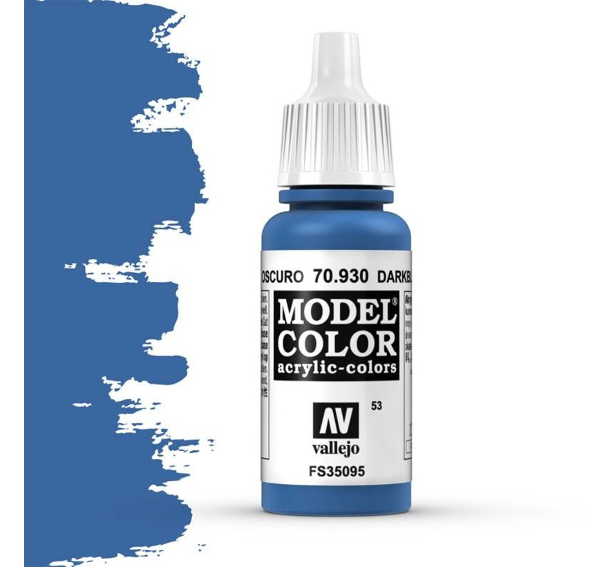 Model Color Dark Blue -17ml -70930