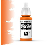 Vallejo Model Color Transparant Orange -17ml -70935