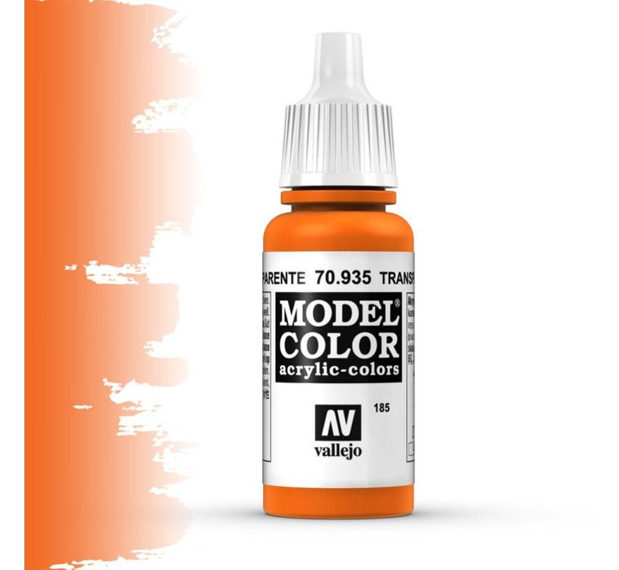 Model Color Transparant Orange -17ml -70935