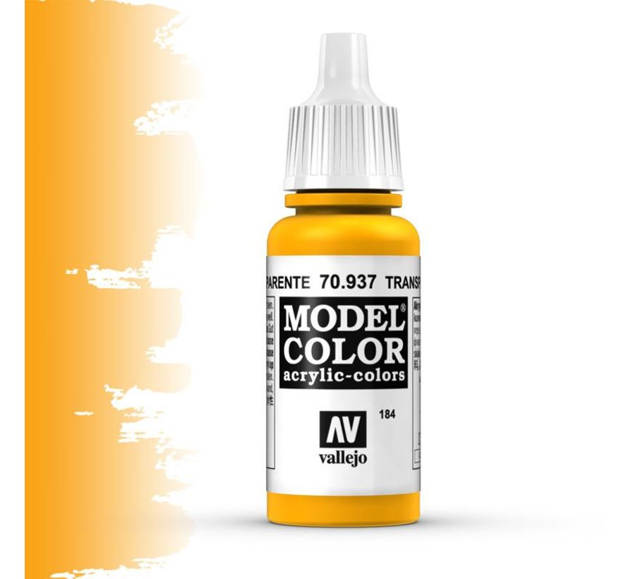 Model Color Transparant Yellow -17ml -70937