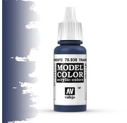 Vallejo Model Color Transparant Blue -17ml -70938