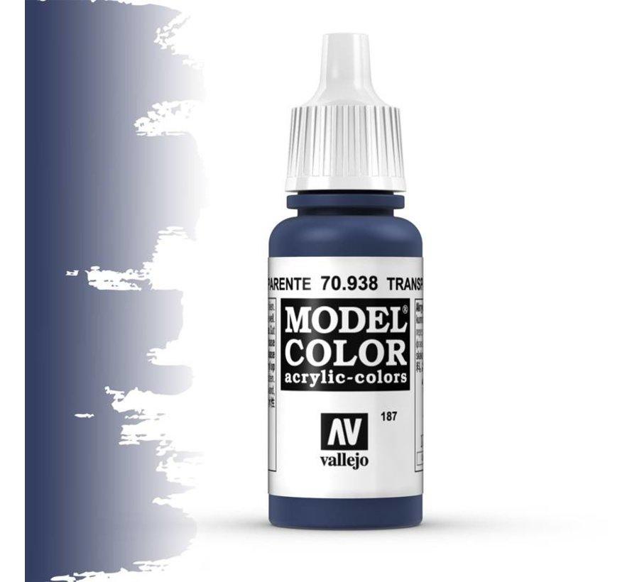 Model Color Transparant Blue -17ml -70938