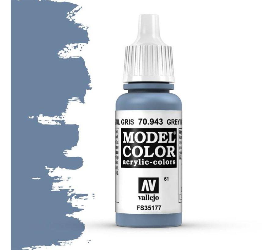 Model Color Grey Blue -17ml -70943