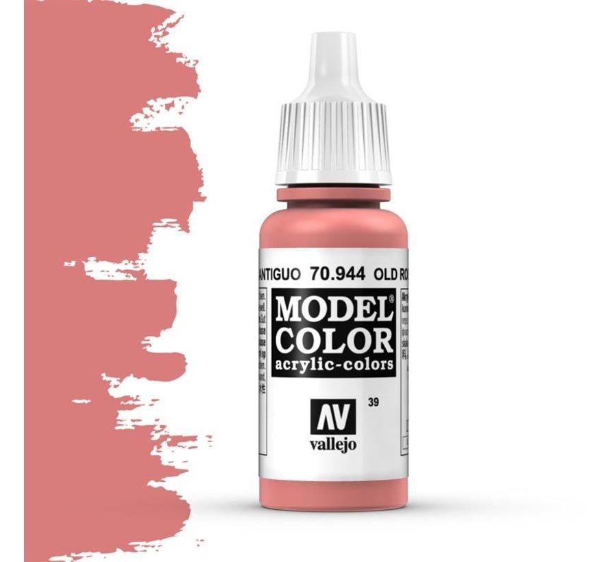 Model Color Old Rose -17ml -70944