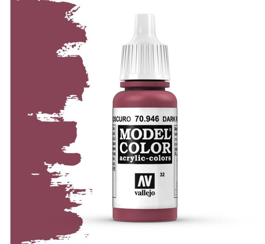 Model Color Dark Red -17ml -70946