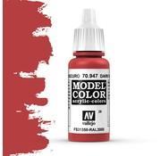 Vallejo Model Color Dark Vermillion -17ml -70947