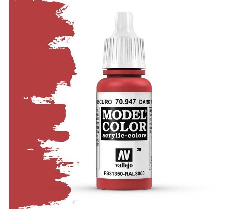 Model Color Dark Vermillion -17ml -70947