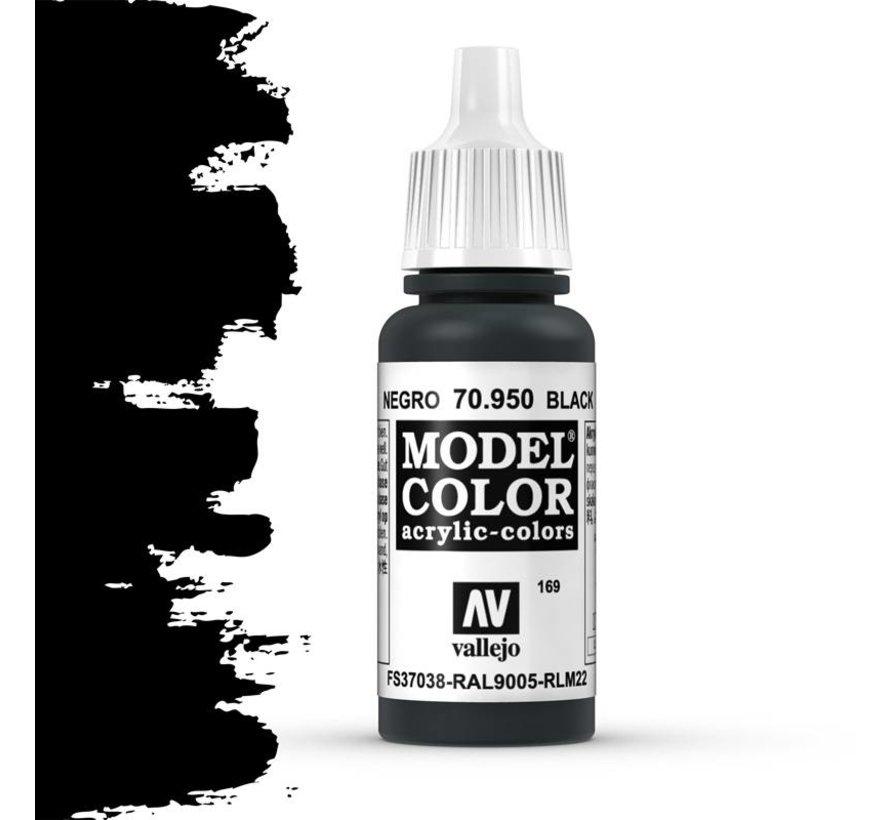 Model Color Black -17ml - 70950
