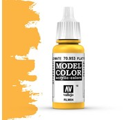 Vallejo Model Color Flat Yellow -17ml -70953