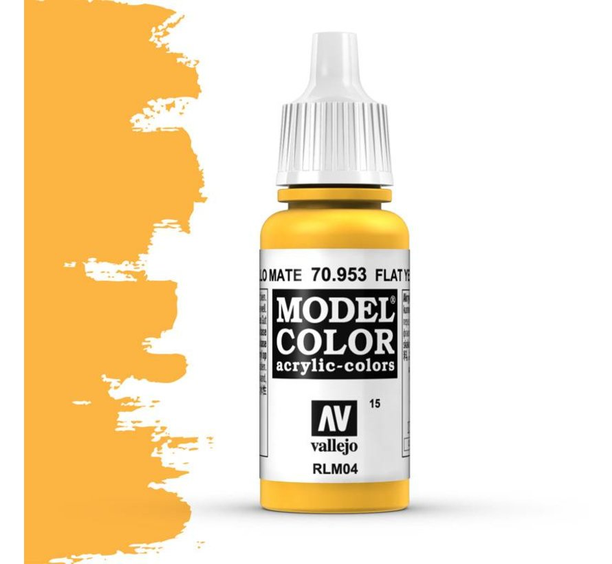Model Color Flat Yellow -17ml -70953