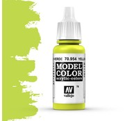 Vallejo Model Color Yellow Green -17ml -70954
