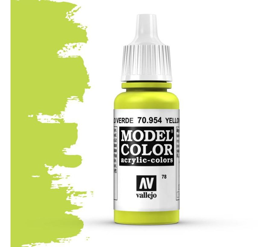 Model Color Yellow Green -17ml -70954