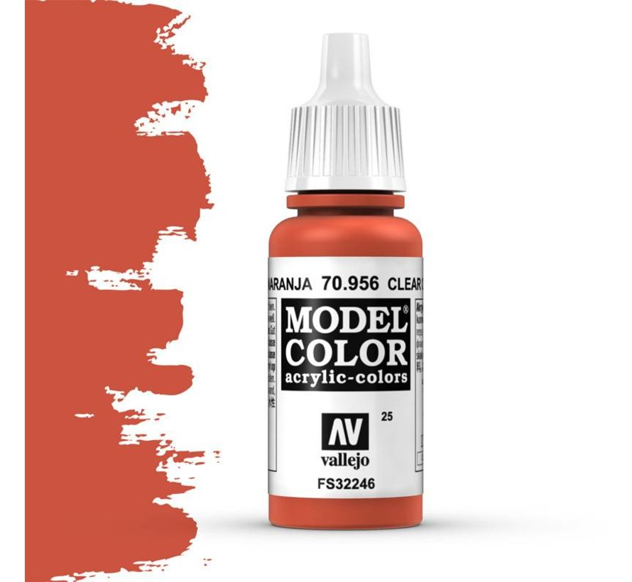 Model Color Clear Orange -17ml -70956