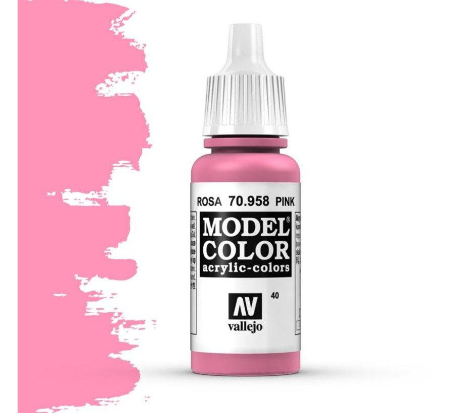 Model Color Pink -17ml -70958