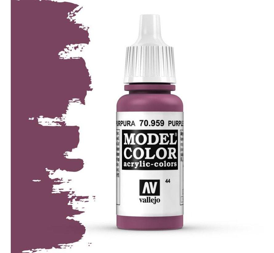 Model Color Purple -17ml -70959