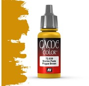 Vallejo Game Color Plague Brown - 17ml - 72039
