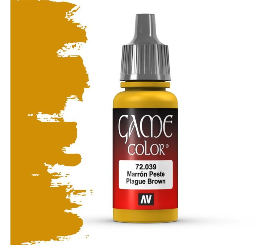 Game Color Plague Brown - 17ml - 72039