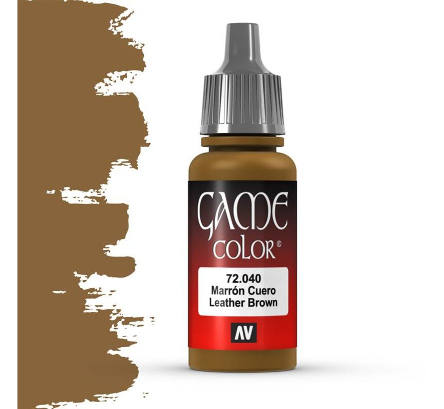 Game Color Leather Brown - 17ml - 72040