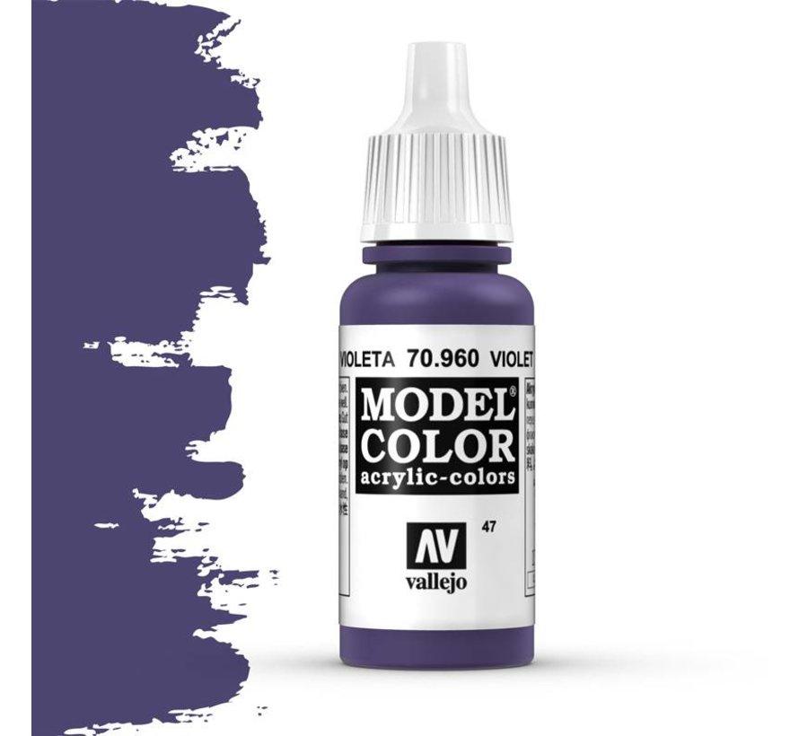 Model Color Violet -17ml -70960