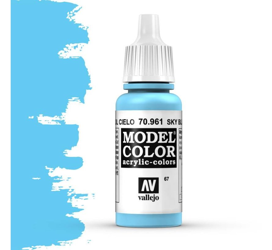 Model Color Sky Blue -17ml -70961