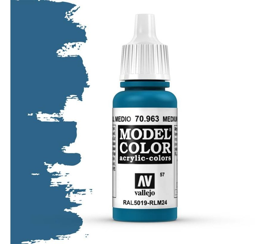 Model Color Medium Blue -17ml -70963