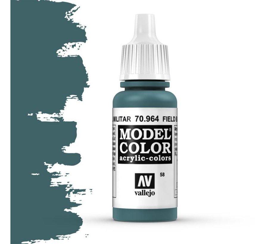 Model Color Field Blue -17ml -70964