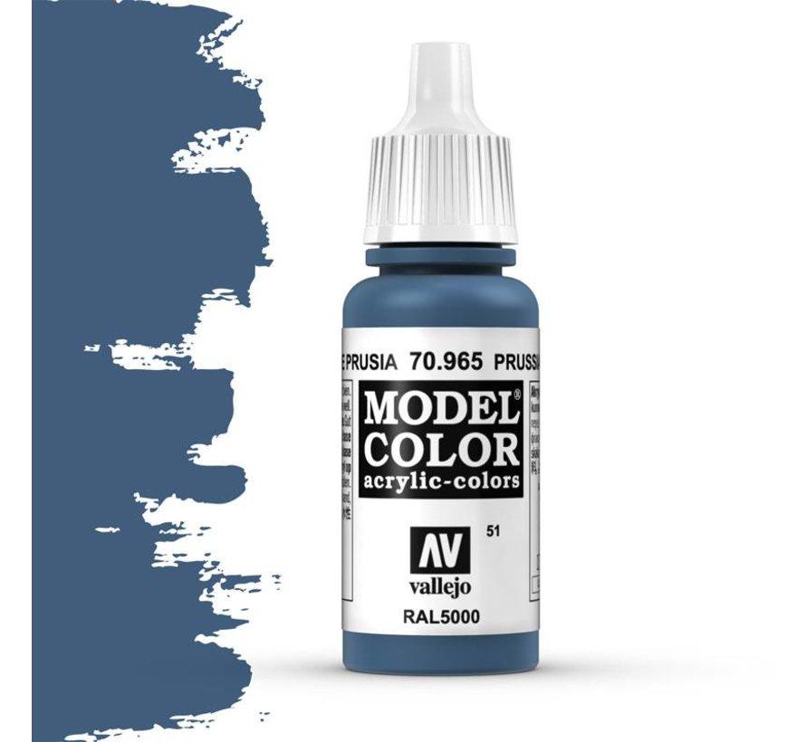 Model Color Prussia Blue - 17ml -70965