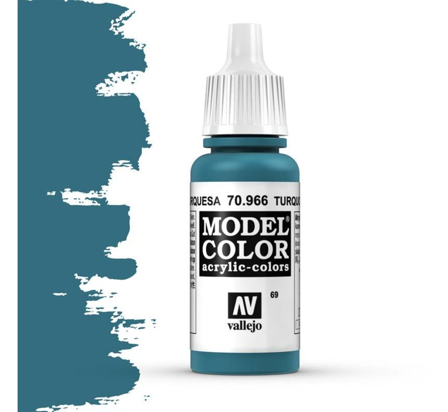 Model Color Turquoise -17ml -70966