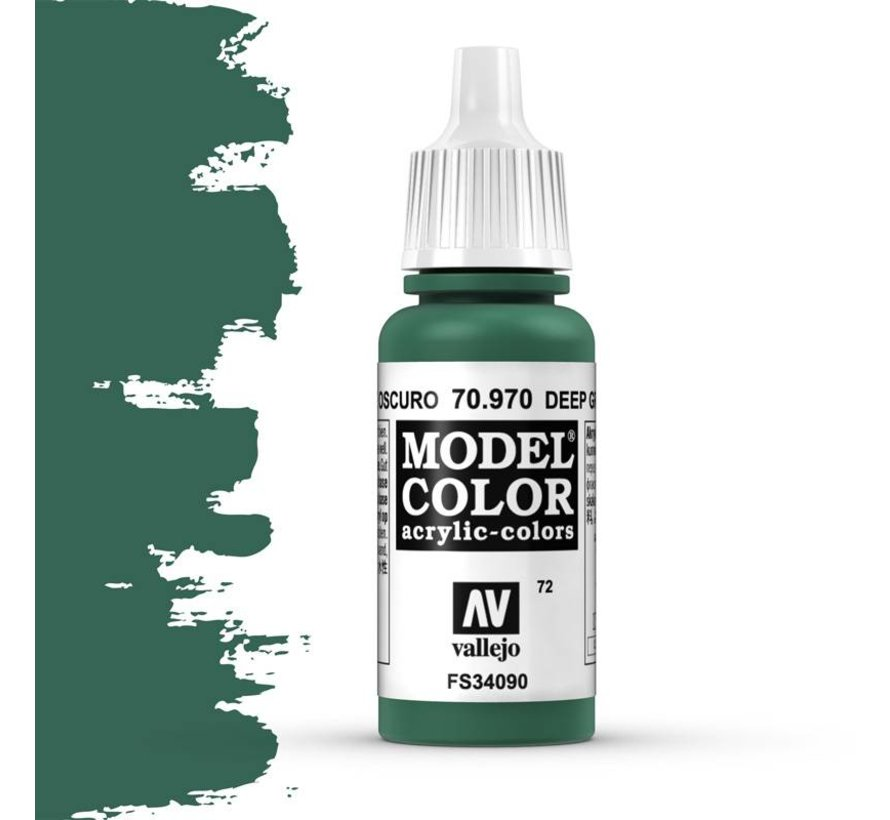 Model Color Deep Green -17ml -70970