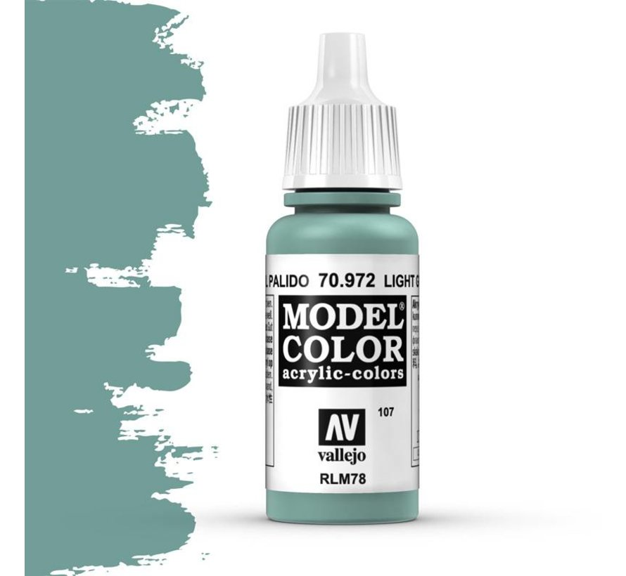 Model Color Light Green Blue -17ml -70972